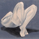 "Elizabeth Lee. ""The Female Nude"". Medium: Acrylic on Canvas. Dimensions: 18"" x 24"""