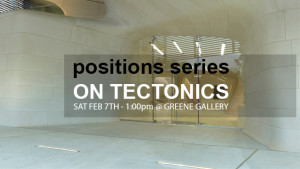 Positions Series_On Tectoncis