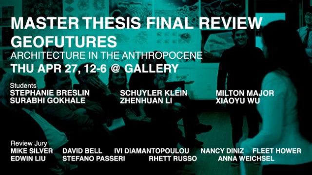 Soa master thesis